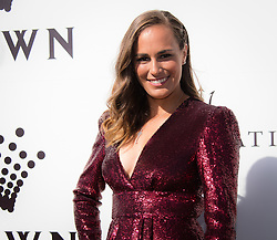 January 13, 2019 - Melbourne, AUSTRALIA - Monica Puig of Puerto Rico on the red carpet of the Crown IMG Tennis Party ahead of the 2019 Australian Open Grand Slam tennis tournament (Credit Image: © AFP7 via ZUMA Wire)