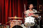 Photos of the Canadian band Japandroids on tour with The Walkmen, performing at Off Broadway in St. Louis on October 20, 2010.