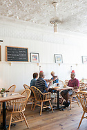 Customers dine at Hominy Grill in Charleston.
