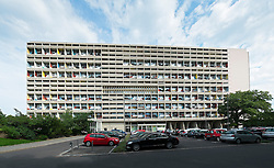 Corbusierhaus modernist apartment building in Berlin Germany