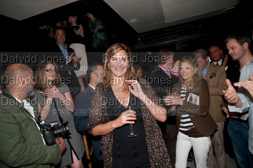 JANINE DI GIOVANNI;, Book party for Janine di Giovanni's Ghosts by Daylight. Blake's Hotel. South Kensington. London. 12 July 2011. <br /> <br />  , -DO NOT ARCHIVE-© Copyright Photograph by Dafydd Jones. 248 Clapham Rd. London SW9 0PZ. Tel 0207 820 0771. www.dafjones.com.