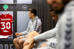 Chris Martin of Bristol City looks on in the home dressing room - Rogan/JMP - 27/09/2020 - Ashton Gate Stadium - Bristol, England - Bristol City v Sheffield Wednesday - Sky Bet Championship.