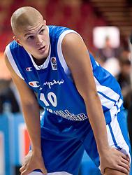 Edo Muric of Slovenia during the U-18 All Star game at EuroBasket 2009, on September 18, 2009 in Arena Spodek, Katowice, Poland.  (Photo by Vid Ponikvar / Sportida)