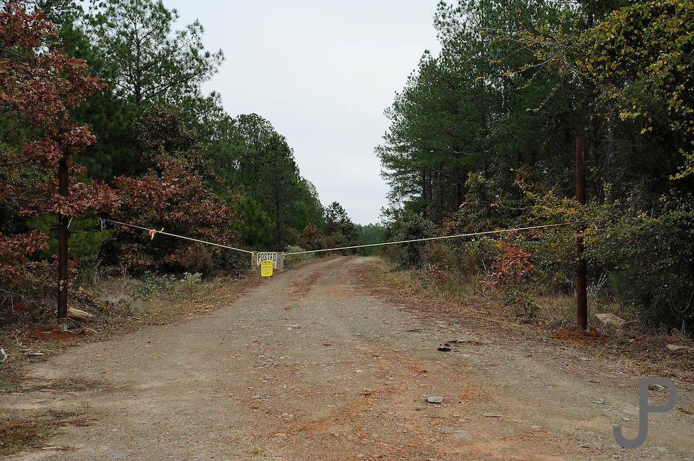 Many no trespassing signs are up during hunting season in southeastern Oklahoma