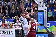 DESCRIZIONE : Campionato 2014/15 Serie A Beko Dolomiti Energia Aquila Trento - Umana Reyer Venezia<br /> GIOCATORE : Benjamin Ortner<br /> CATEGORIA : Passaggio Controcampo Penetrazione<br /> SQUADRA : Umana Reyer Venezia<br /> EVENTO : LegaBasket Serie A Beko 2014/2015<br /> GARA : Dolomiti Energia Aquila Trento - Umana Reyer Venezia<br /> DATA : 26/12/2014<br /> SPORT : Pallacanestro <br /> AUTORE : Agenzia Ciamillo-Castoria/GiulioCiamillo<br /> Galleria : LegaBasket Serie A Beko 2014/2015