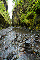 Scenic image of the Oneonta Gorge. Columbia River Gorge, OROR