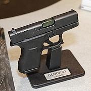 20150916-Glock hand guns at DSEI Exhibition