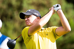 James Morrison during day three of the Paul Lawrie Match Play at Archerfield Links, East Lothian.