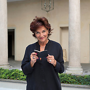 Milan, Italy, August 6, 2020. Daniela Riccardi, Moleskine's new CEO portrayed for The Sunday Times.<br />