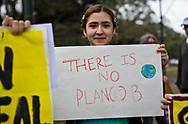 Berelian Karimian, leader of the New Orleans  Friday highschool student strike,