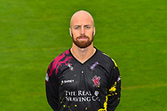 Head shot.  Jack Leach wearing the Somerset Vitality Blast kit at the media day at Somerset County Cricket Club at the Cooper Associates County Ground, Taunton, United Kingdom on 11 April 2018. Picture by Graham Hunt.