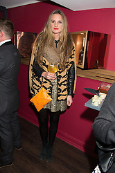 BRYONY DANIELS at the launch of La Maison Remy Martin pop-up private members club at 19 Greek Street, Soho, London on 2nd November 2015.