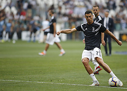 August 25, 2018 - Turin, Italy - Cristiano Ronaldo during Serie A match between Juventus v Lazio, in Turin, on August 25, 2018  (Credit Image: © Loris Roselli/NurPhoto via ZUMA Press)
