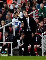 Photo: Jed Wee.<br /> Middlesbrough v Newcastle United. The Barclays Premiership. 22/10/2006.<br /> <br /> Newcastle manager Glenn Roeder.