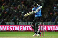 Sussex's David Wiese during the final of the Vitality T20 Finals Day 2018 match between Worcestershire rapids and Sussex Sharks at Edgbaston, Birmingham, United Kingdom on 15 September 2018.