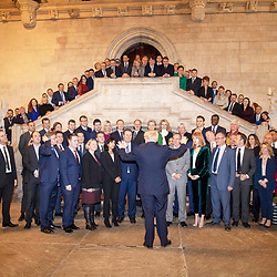 17:45 16/12/2019<br /> <br /> Publication:<br /> Daily Telegraph<br /> Section:<br /> DT News<br /> <br /> PrimeMinister Boris Johnson and new MP'S at the House of Commons