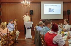 22.07.2015, Braeuwirth, Bergheim, AUT, FP Salzburg, Liste Dr. Karl Schnell, Gruendungsparteitag, Flachgau, im Bild Dr. Karl Schnell (Parteiobmann der FPS). EXPA Pictures © 2015, PhotoCredit: EXPA/ JFK