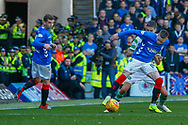 Ryan Kent of Rangers FC during the Ladbrokes Scottish Premiership match between Rangers and Celtic at Ibrox, Glasgow, Scotland on 12 May 2019.