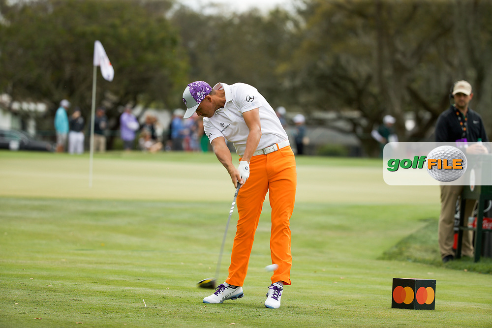 Rickie Fowler (USA) during the final round of the Arnold Palmer Invitational presented by Mastercard, Bay Hill, Orlando, Florida, USA. 08/03/2020.<br /> Picture: Golffile   Scott Halleran<br /> <br /> <br /> All photo usage must carry mandatory copyright credit (© Golffile   Scott Halleran)