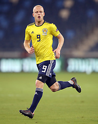 Scotland's Steven Naismith during the UEFA Nations League Group C1 match at the Sammy Ofer Stadium, Haifa. PRESS ASSOCIATION Photo. Picture date: Thursday October 11, 2018. See PA story SOCCER Israel. Photo credit should read: Adam Davy/PA Wire. RESTRICTIONS: Use subject to restrictions. Editorial use only. Commercial use only with prior written consent of the Scottish FA.