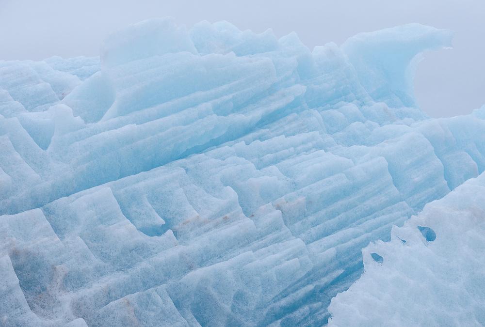 Ice, Svalbard, Norway