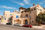Israel, Tel Aviv-Yafo, Kikar Kdumim centre of old Jaffa