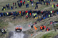 MOTORSPORT - WORLD RALLY CHAMPIONSHIP 2010 - WALES RALLY GB / RALLYE DE GRANDE-BRETAGNE - CARDIFF (GBR) - 11 TO 14/11/2010 - PHOTO : ALEXANDRE GUILLAUMOT / DPPI - <br /> HENNING SOLBERG (NOR) / STEPHANE PREVOT (BEL) - FORD FOCUS RS WRC 08 - STOBART M-SPORT FORD RALLY TEAM - ACTION