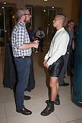JAMES MORRISON; TAYO CHIU, Tate Summer party. Tate Britian, Millbank. London. 28 May 2012