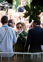 Actor Johnny Depp arrives at the 72nd Venice Film Festival, Friday September 4th 2015, Venice Lido, Italy.