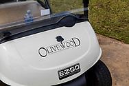 08-11-2017 Foto's genomen tijdens een persreis naar Buffalo City, een gemeente binnen de Zuid-Afrikaanse provincie Oost-Kaap. Olivewood Private Estate - Golf Club - Buggy