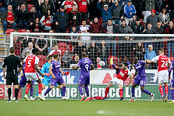 Rotherham United's Richie Towell scores their second goal