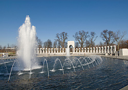 Washington DC; USA: The National World War II Memorial on the Mall..Photo copyright Lee Foster Photo # 7-washdc76195