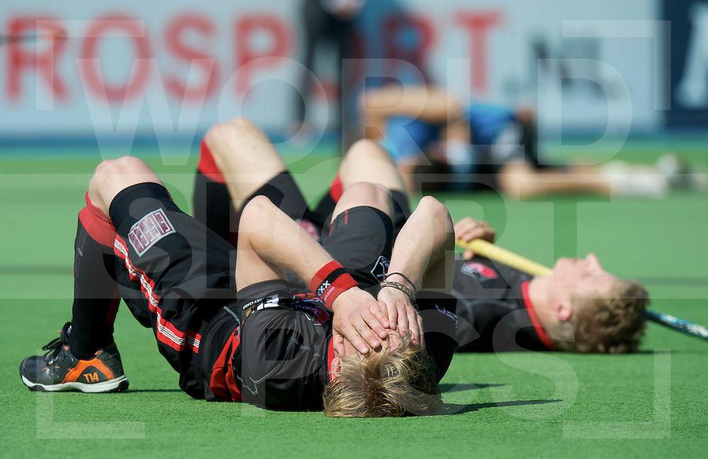 Amstelveen - Euro Hockey League .UHC Hamburg - Amsterdam H & BC .foto: Klaas Vermeulen and Jan Willem Buissant..FFU PRESS AGENCY COPYRIGHT FRANK UIJLENBROEK.