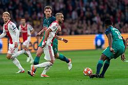 08-05-2019 NED: Semi Final Champions League AFC Ajax - Tottenham Hotspur, Amsterdam<br /> After a dramatic ending, Ajax has not been able to reach the final of the Champions League. In the final second Tottenham Hotspur scored 3-2 / Hakim Ziyech #22 of Ajax, Jan Vertonghen #5 of Tottenham Hotspur