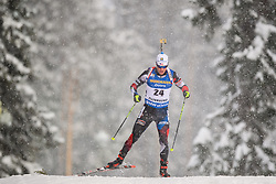 March 9, 2019 - –Stersund, Sweden - 190309 Michal Krcmar of Czech Republic competes in the Men's 10 KM sprint during the IBU World Championships Biathlon on March 9, 2019 in Östersund..Photo: Petter Arvidson / BILDBYRÃ…N / kod PA / 92252 (Credit Image: © Petter Arvidson/Bildbyran via ZUMA Press)