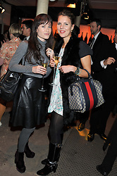 Left to right, ? and LADY VIRGINIA FRASER at a party to celebrate the launch of the new Vertu Constellation phone - the luxury phonemakers first touchscreen handset, held at the Farmiloe Building, St.John Street, Clarkenwell, London on 24th November 2011.