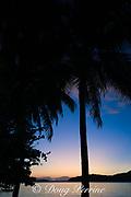 sunset at Tongan Beach Resort, Vava'u, Kingdom of Tonga, South Pacific