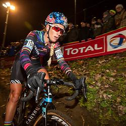 2019-12-29: Cycling: Superprestige: Diegem: Pauline Ferrand Prevot making her reentrance in cyclocross