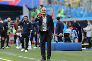 Brazil head coach Tite during the 2018 FIFA World Cup Russia, Group E football match between Brazil and Costa Rica on June 22, 2018 at Saint Petersburg Stadium in Saint Petersburg, Russia - Photo Thiago Bernardes / FramePhoto / ProSportsImages / DPPI