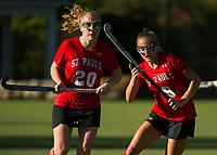 St Paul's School varsity Field Hockey v Rivers.   ©2019 Karen Bobotas Photographer