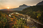 Fall in Glacier National Park