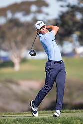 January 27, 2019 - San Diego, CA, U.S. - SAN DIEGO, CA - JANUARY 27: Billy Horschel during the final round of the Farmers Insurance Open at Torrey Pines Golf Club on January 27, 2019 in San Diego, California. (Photo by Alan Smith/Icon Sportswire) (Credit Image: © Alan Smith/Icon SMI via ZUMA Press)
