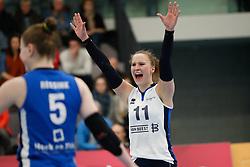 20180331 NED: Eredivisie Sliedrecht Sport - Regio Zwolle, Sliedrecht <br />Ana Rekar (11) of Sliedrecht Sport <br />©2018-FotoHoogendoorn.nl / Pim Waslander