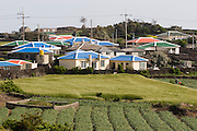 Udo, a small Island near Jeju-do. Typical farmers' village.