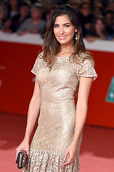 Ariadna Romero during the red carpet for The House With A Clock in its Walls premiere at the Rome Film Fest on October 19, 2018