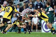 Dean Mumm. NSW Waratahs v Hurricanes. 2010 Super 14 Rugby Union round 14 match played at the Sydney Football Stadium, Moore Park Australia. Friday 14 May 2010. Photo: Clay Cross/PHOTOSPORT