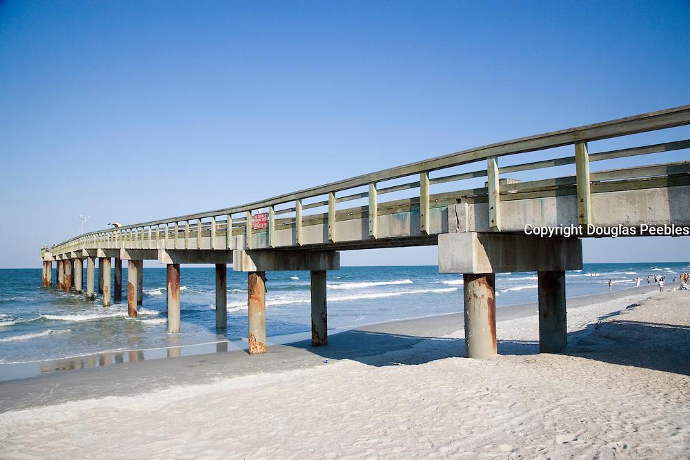 St. Augustine Beach Pier, Florida, USA<br />