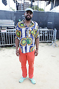 August 23, 2015- Brooklyn, NY-United States: Fashion Stylist Mobolaji Dawodu attends the 2015 AFROPUNK Festival on August 23, 2015 held at Commodore Barry Park in Brooklyn, New York City.  AFROPUNK is an influential community of young, gifted people of all backgrounds who speak through music, art, film, comedy, fashion and more. Originating with the 2003 documentary that highlighted a Black presence in the American punk scene, it is a platform for the alternative and experimental.  (Terrence Jennings/terrencejennigs.com)