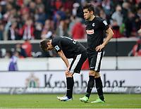Enttaeuschung Freiburg<br /> Fussball Bundesliga, VfB Stuttgart - SC Freiburg 2:1