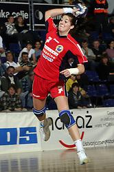 Maja Son of Celje at handball game ZRK Celje Celjske Mesnine vs RK Krim Mercator in final match of Slovenian Handball Cup,  on April 6, 2008 in Arena Golovec, Celje, Slovenia. Krim won the game 31:21 and became Cup Winner.  (Photo by Vid Ponikvar / Sportal Images)